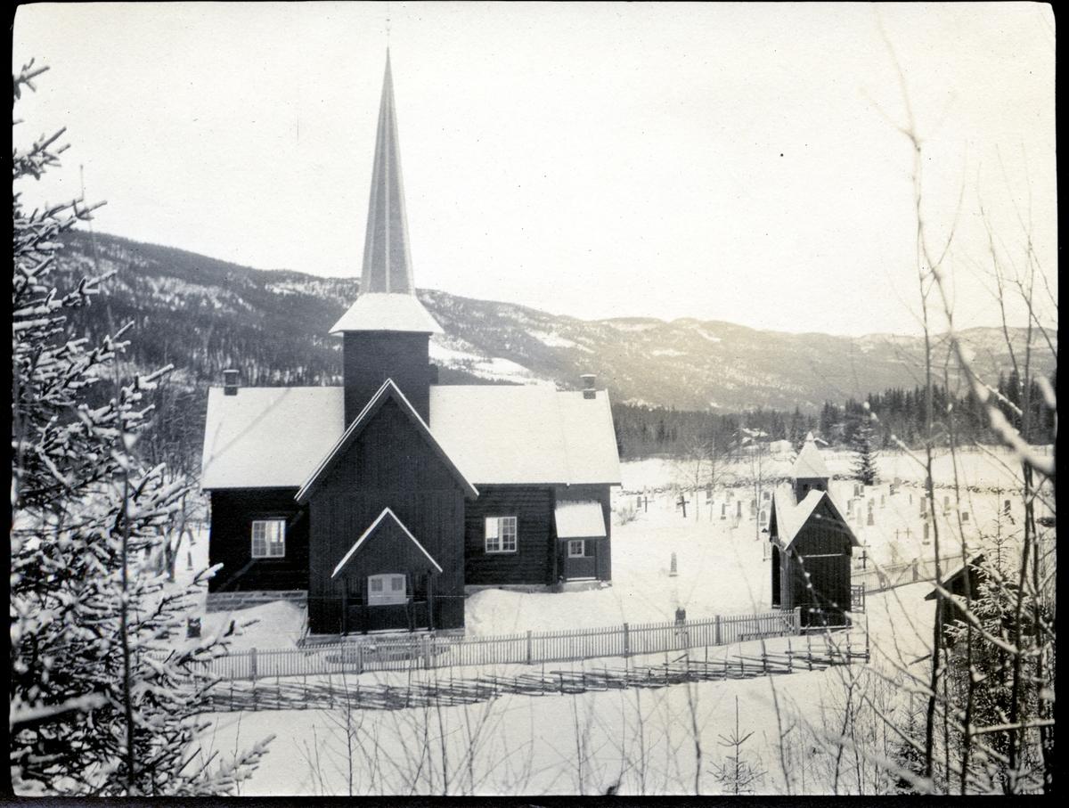 Bruflat kyrkje i Etnedal.