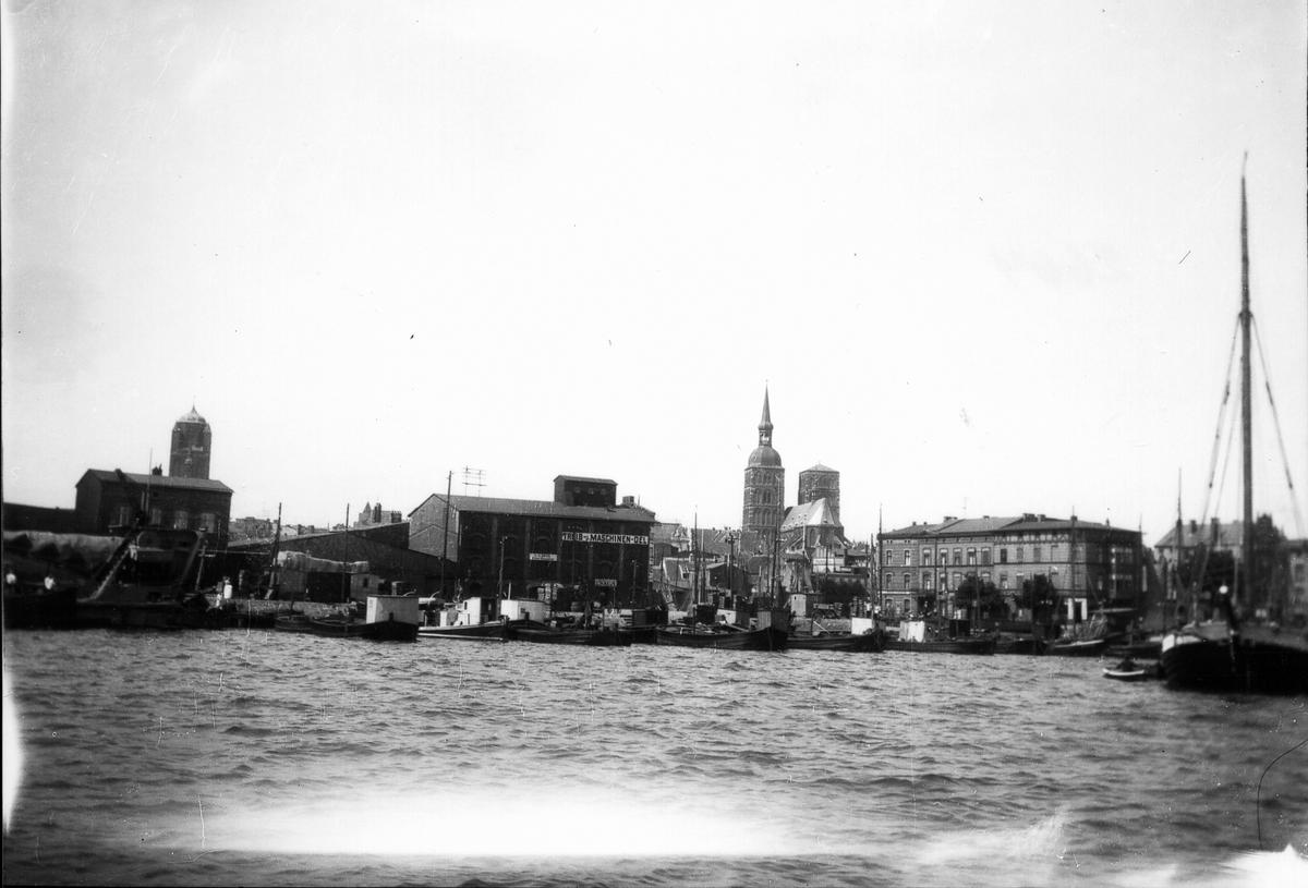 Stralsund, hamnen.