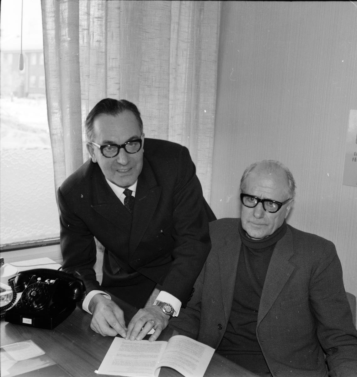 Arbrå, Jordbrukskassans omsättning, Ordf. Jonas Eriksson, Kamrer Olsson, Mars 1969