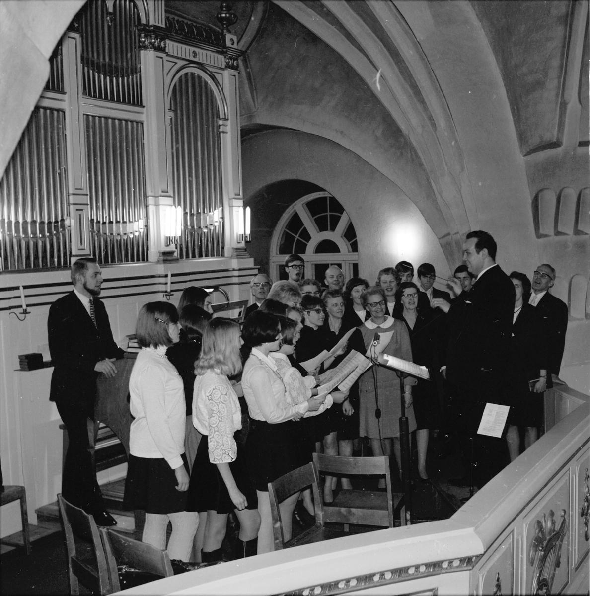Arbrå, Kyrkokonsert, Musikandakt i Arbrå kyrka, 2 Februari 1969