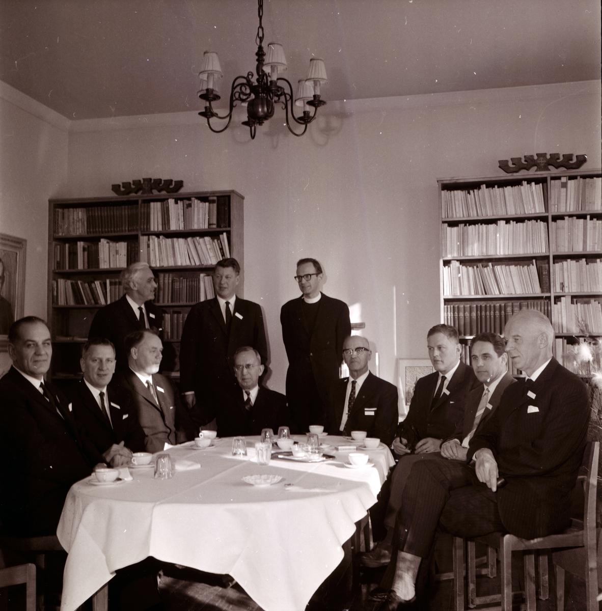 """Stiftsgården, Undersvik, """"Kyrkan och industrin"""" 14 Mars 1965"""