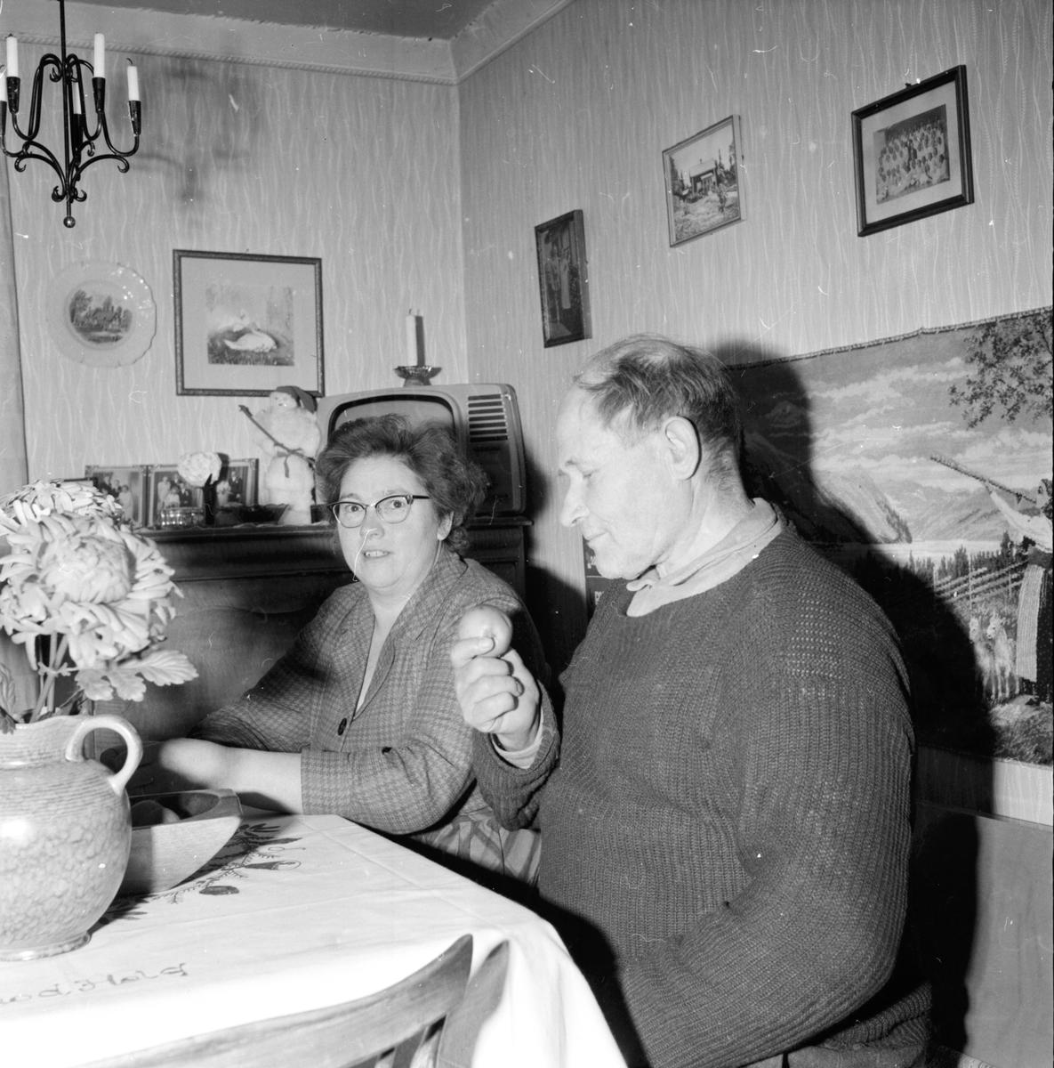 Flätsbo, Erik och Frida, 7 Jan 1965