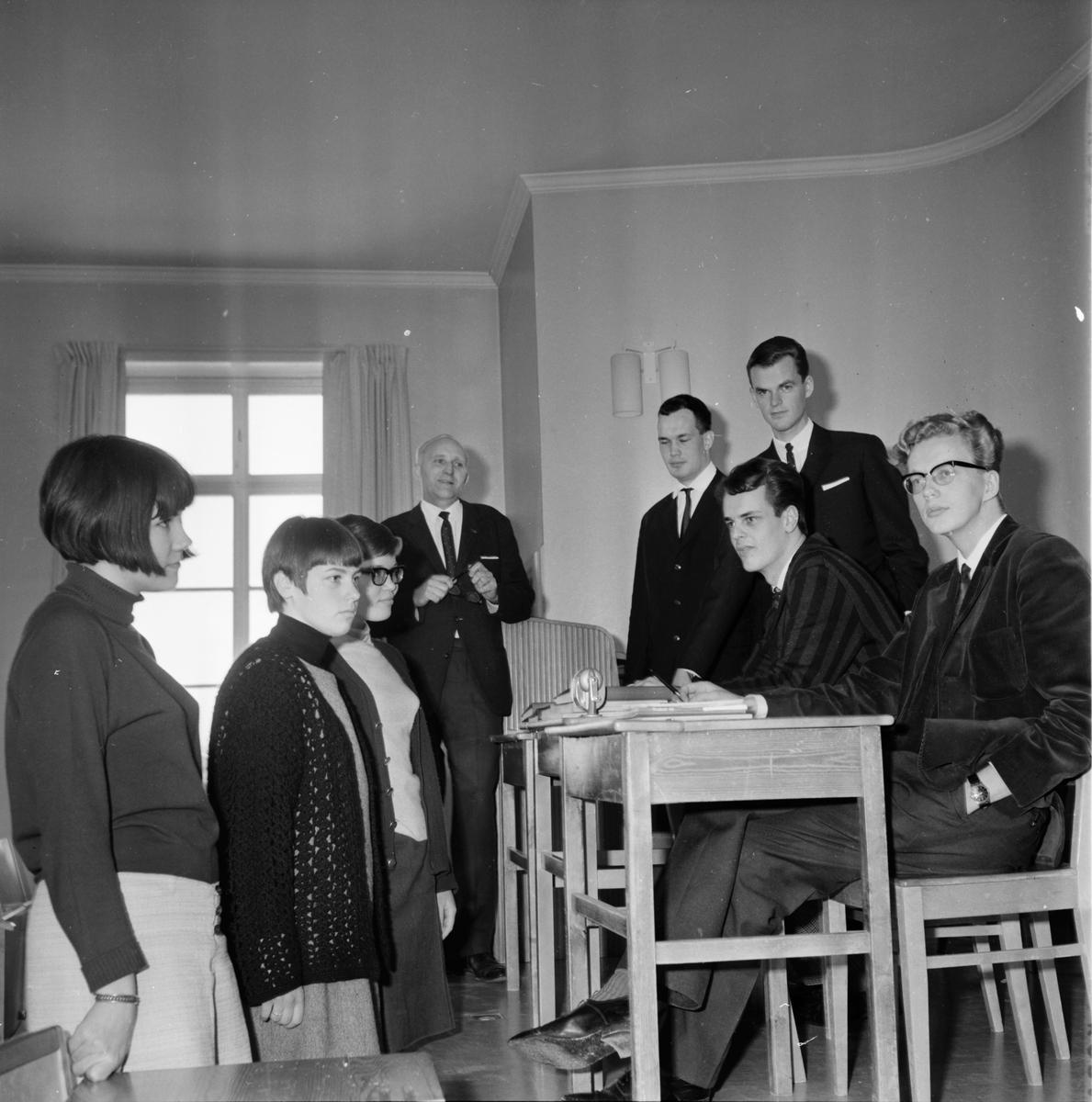 Skolkonferans i Bollnäs 30/3-1966