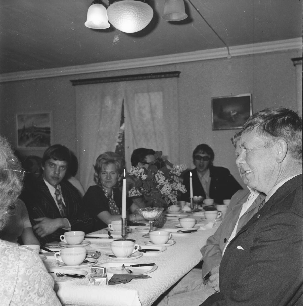 Arbrå Lion, Presidentbyte, juli 1972