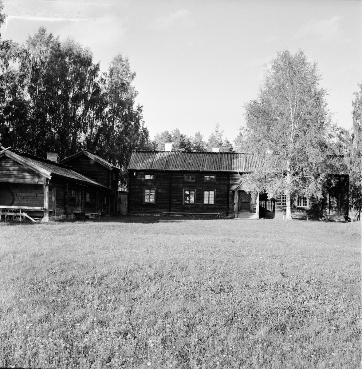 Hanzen Rut Delsbo hembygdsgård. 12/9-1966