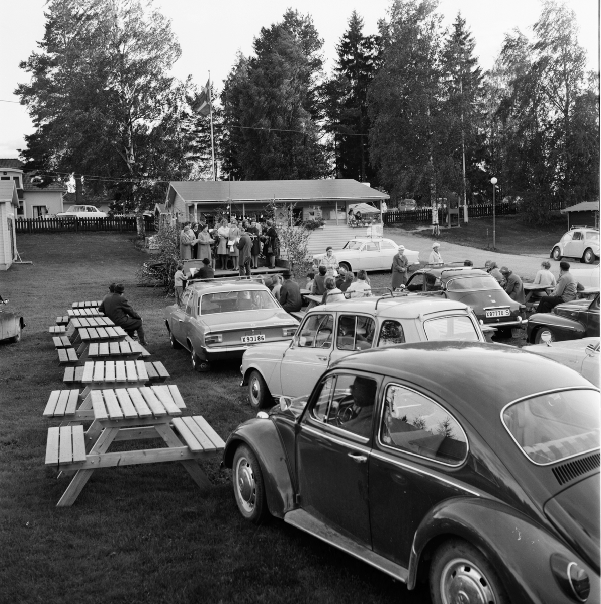 "Arbrå, ""Alle man ut"" Orbaden, Sept 1970"