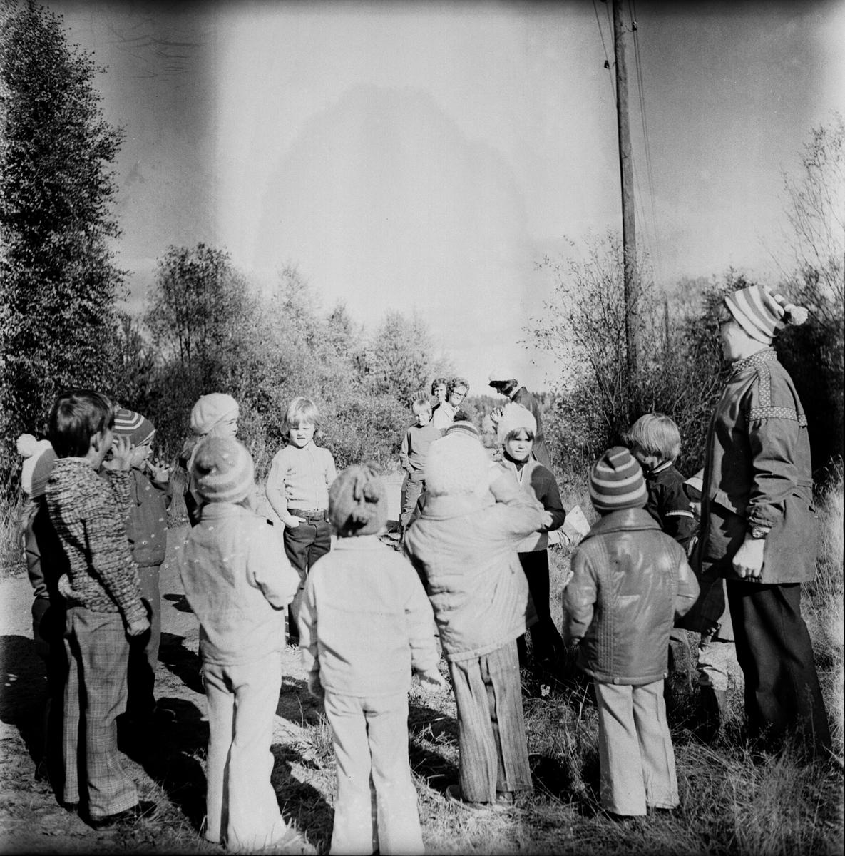 Vallsta mulleskola avslutning. September 1972