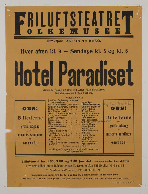 Teaterplakat NF.34668-073