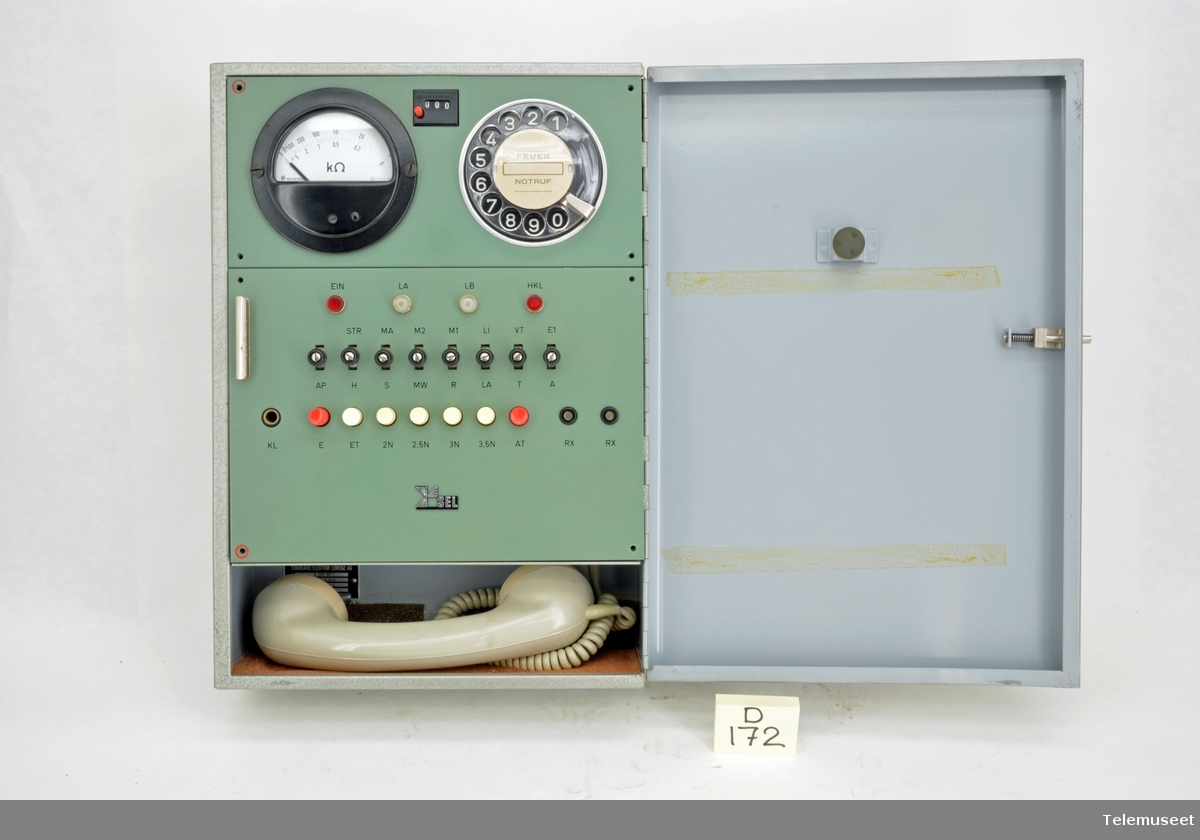 Måling av linjer mot automat telefoner og PABX