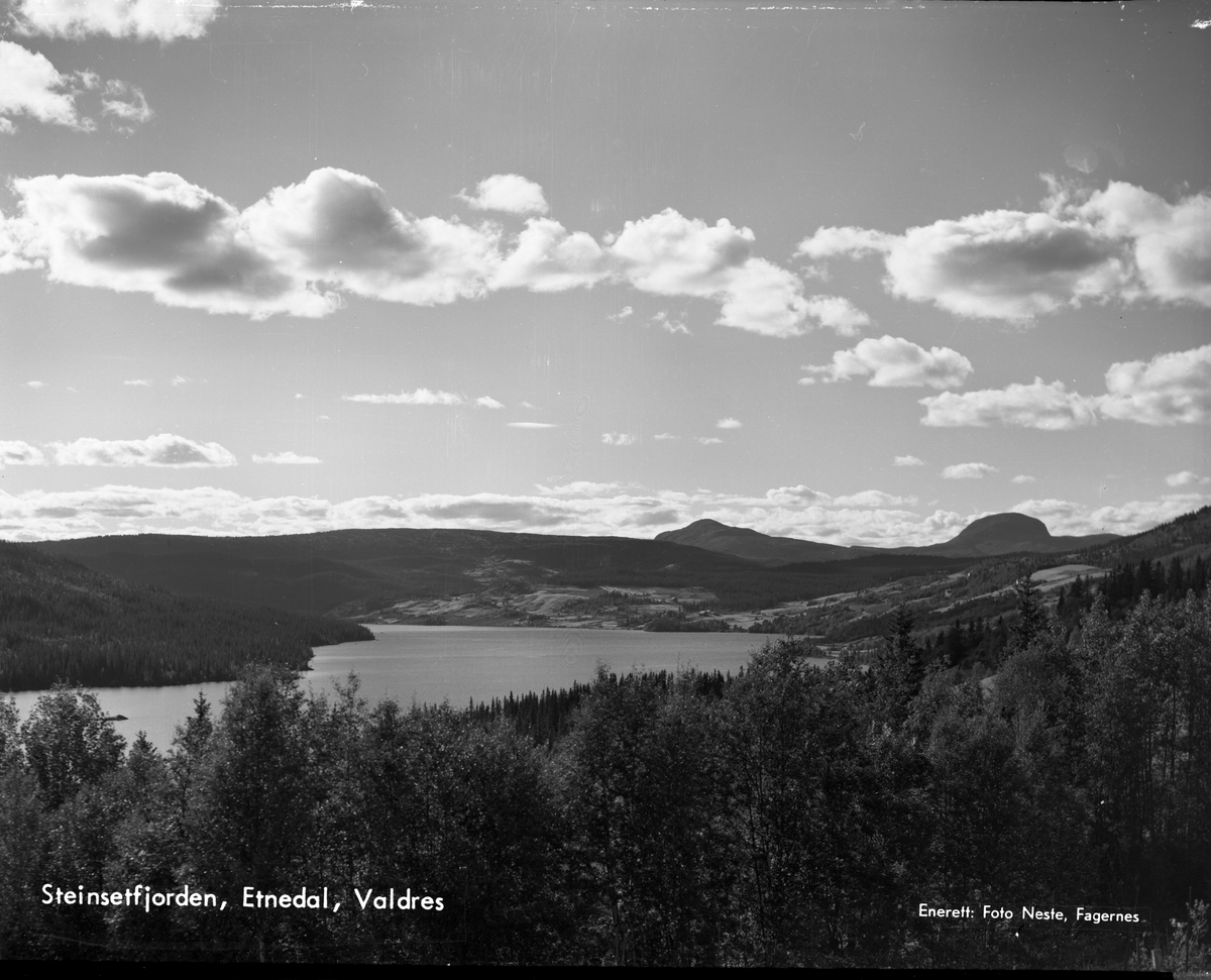 Steinsetfjorden, Nord-Etnedal.