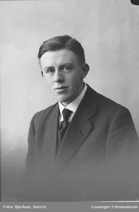 Portrett av  Bård Svendsen.