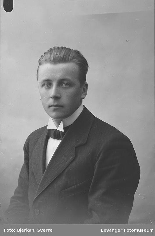 Portrett av Halvor Gylland.