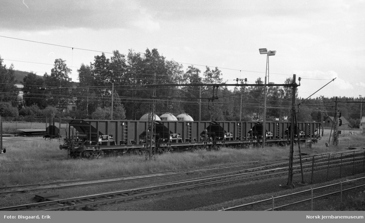 Nye bunntømmingsvogner litra Fad for Norcem, klare til levering fra Strømmens Værksted