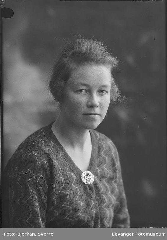 Portrett av Margit Mikaelsen.