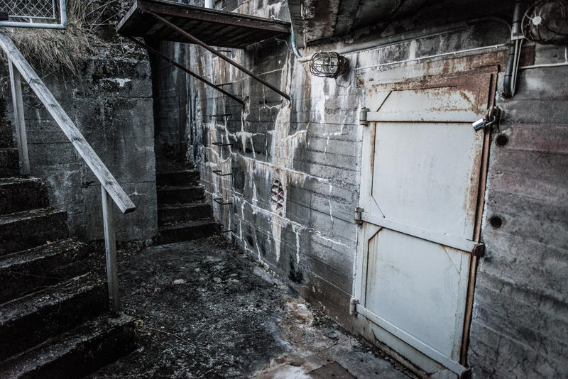 Bunkeren på Vollanhaugen slik den framstår i dag