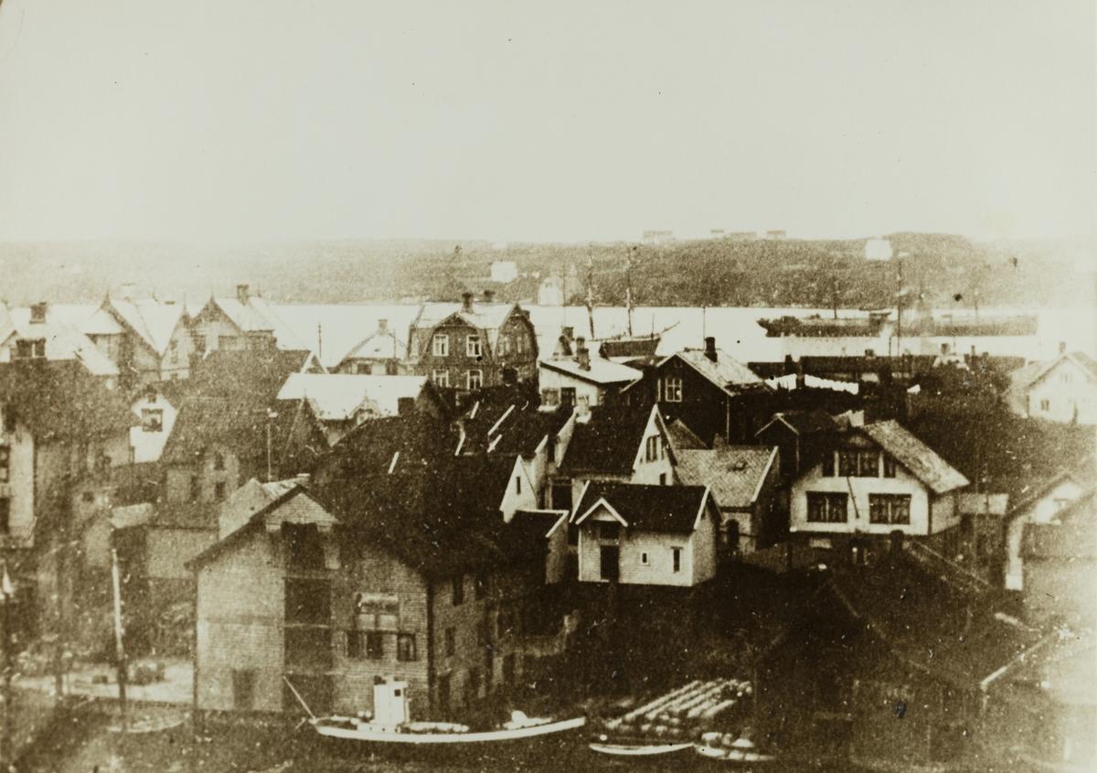 X Risøen - Risøen sett mot vest ca.1915