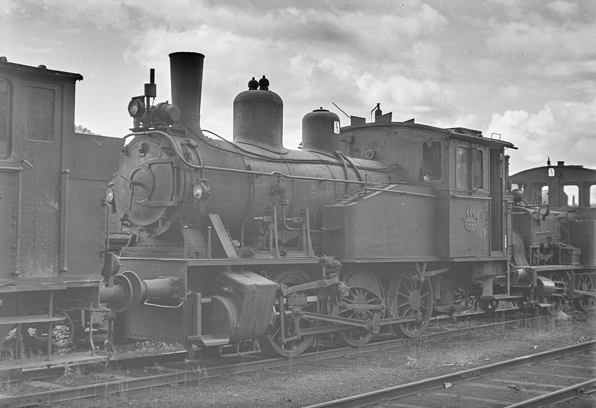 Damplokomotiv type 23b nr. 440 i Lodalen i Oslo.
