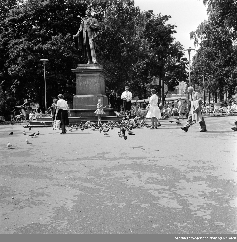 Studenterlunden. Juli 1961
