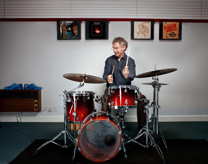 Bill Bruford ble i 2017 innlemmet i Rock and Roll Hall of Fame, gjennom sitt medlemskap i Yes. Foto: Deidre O'Callaghan