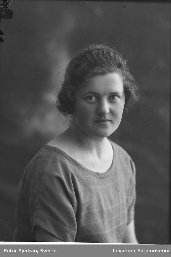 Portrett av Klara Rikstad