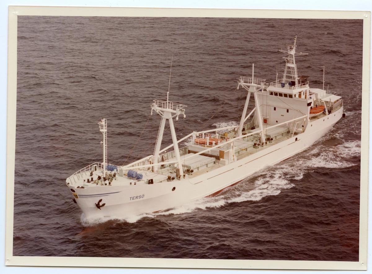 Kylfartyget ms Tersö ägdes av rederi Ab Gustaf Erikson 1980 - 1985