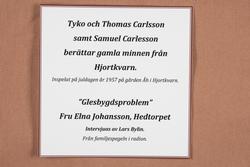 Tycko och Thomas Carlsson berättar gamla minnen från Hjortkv