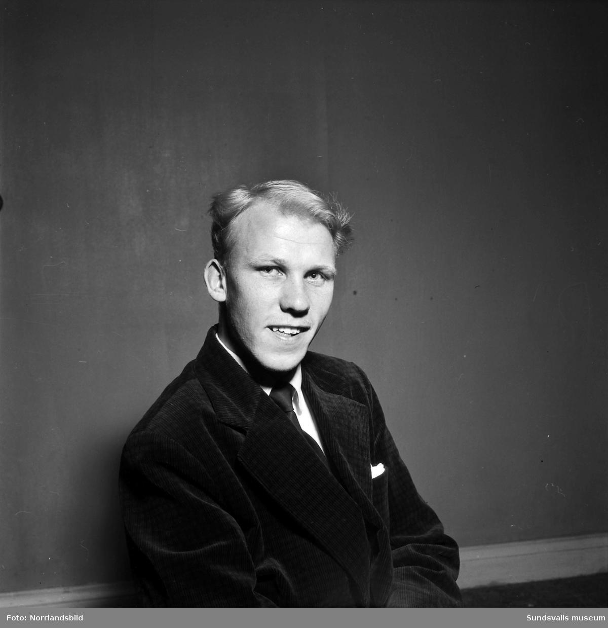Bert-Oves orkester, porträttbilder.