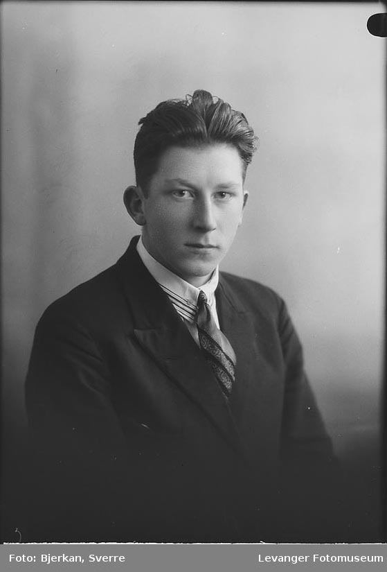 Portrett av Asbjørn Stavrum
