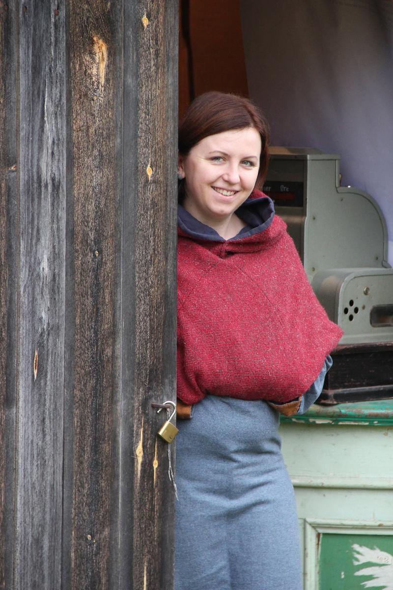 Handelskvinne middelalder (Foto/Photo)