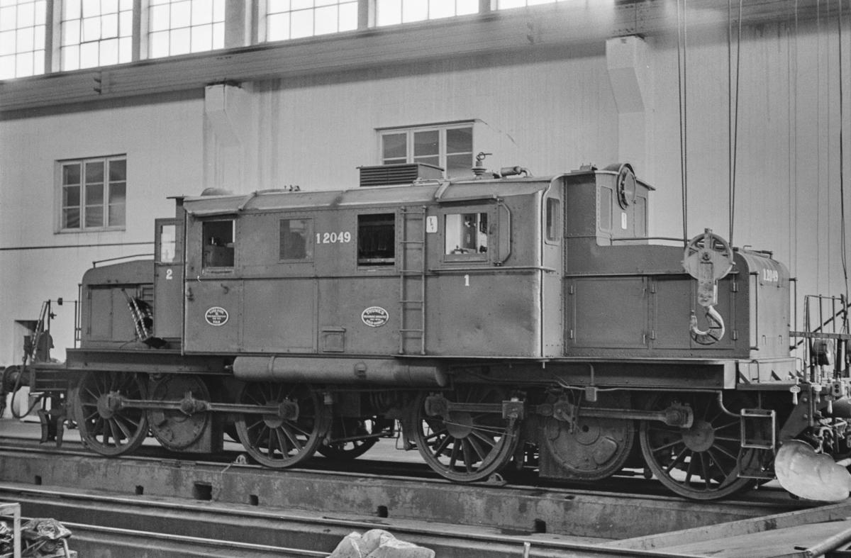 Elektrisk lokomotiv type El 1 nr. 2049 på Sundland i Drammen.