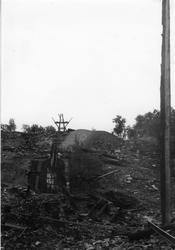 Restene av bygninger og anlegg ved Christianus Sextus gruve,