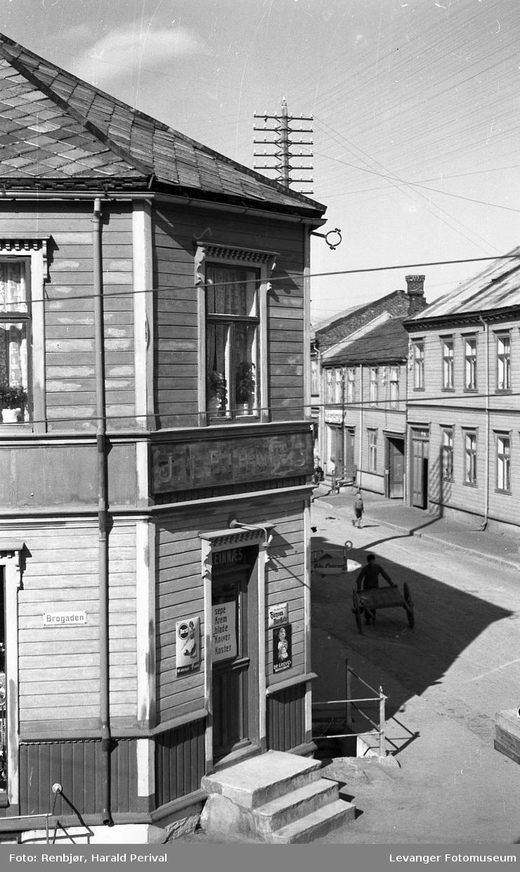 Leiknæshjørnet tatt fra 2. etasje i Renbjørgården