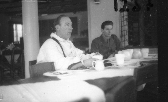 Kohlstedt, sergeant, A 6. Batteri Ekman.