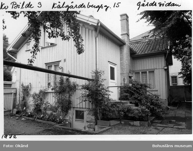Kv. Bilde 3. Kålgårdsbergsg. 15. Gårdssidan.