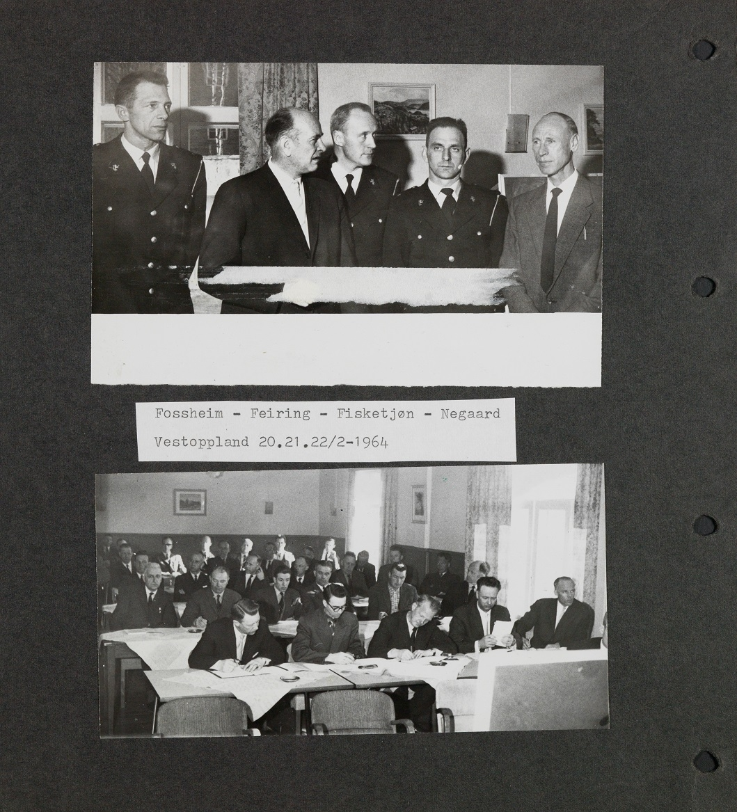 Bildet er en kopi hentet fra album I i Utrykningspolitiets fotosamling
