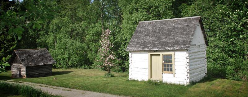 Gundersonstua på Norsk utvandrermuseum