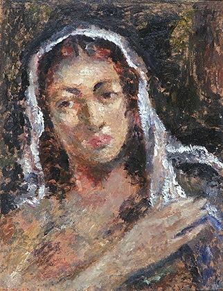 Kvinnehode [Maleri]