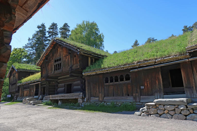Setesdalstunet på Norsk Folkemuseum. Foto: Astrid Santa, Norsk Folkemuseum. (Foto/Photo)