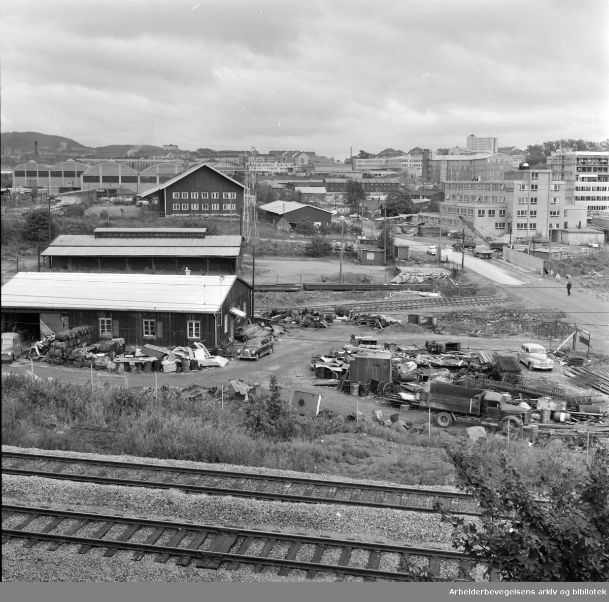 Normannsløkka, Skedsmogata 22 - 24. September 1961