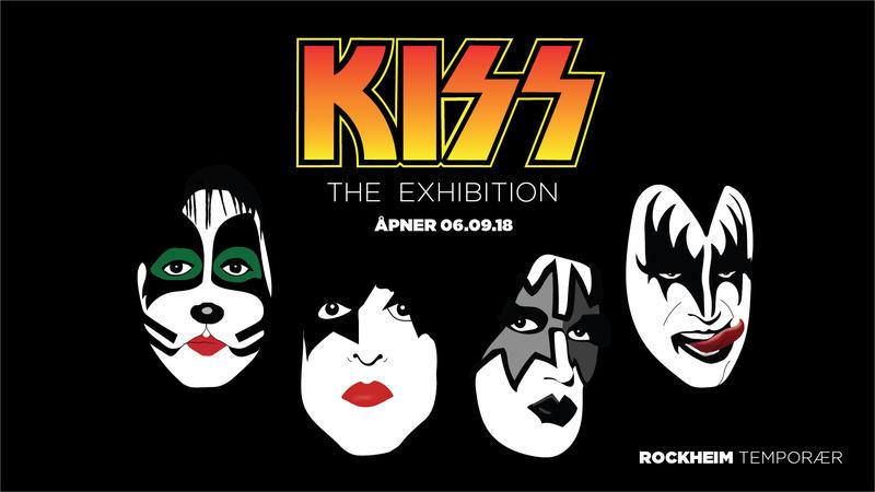 Kiss - The Exhibition stilles ut i Rockheim Temporær, og tar over for Ei vise er så mangt.