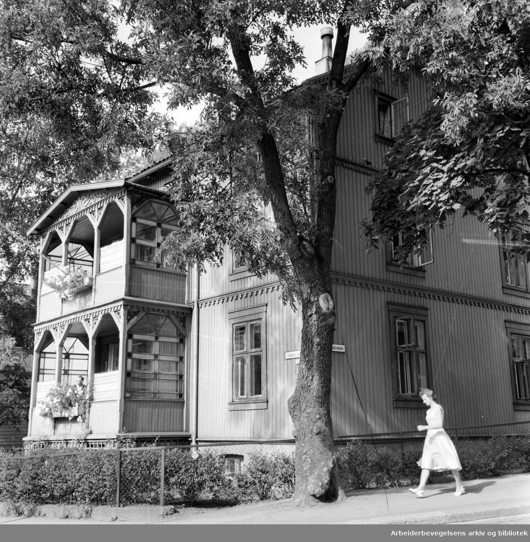 Indremisjonens tilfluktshjem i Louises gate 30. August 1959