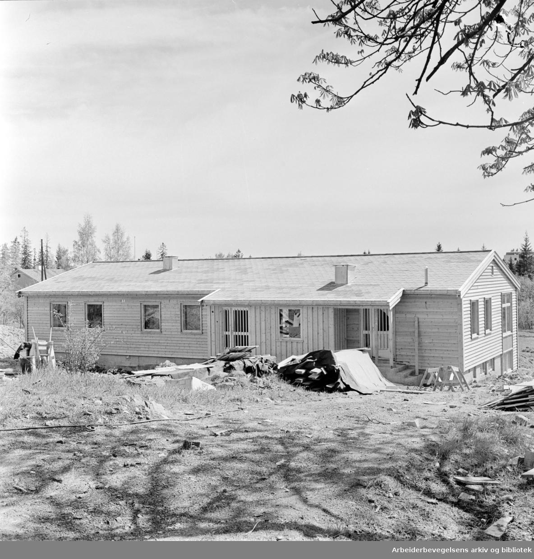 Barnas Hus på Holmen. Mai 1962