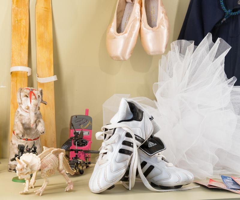 Ballettsko og fotballsko
