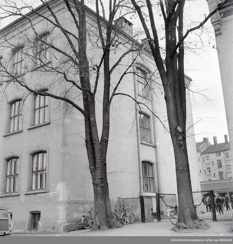 Gamlebyen Skole. August 1963