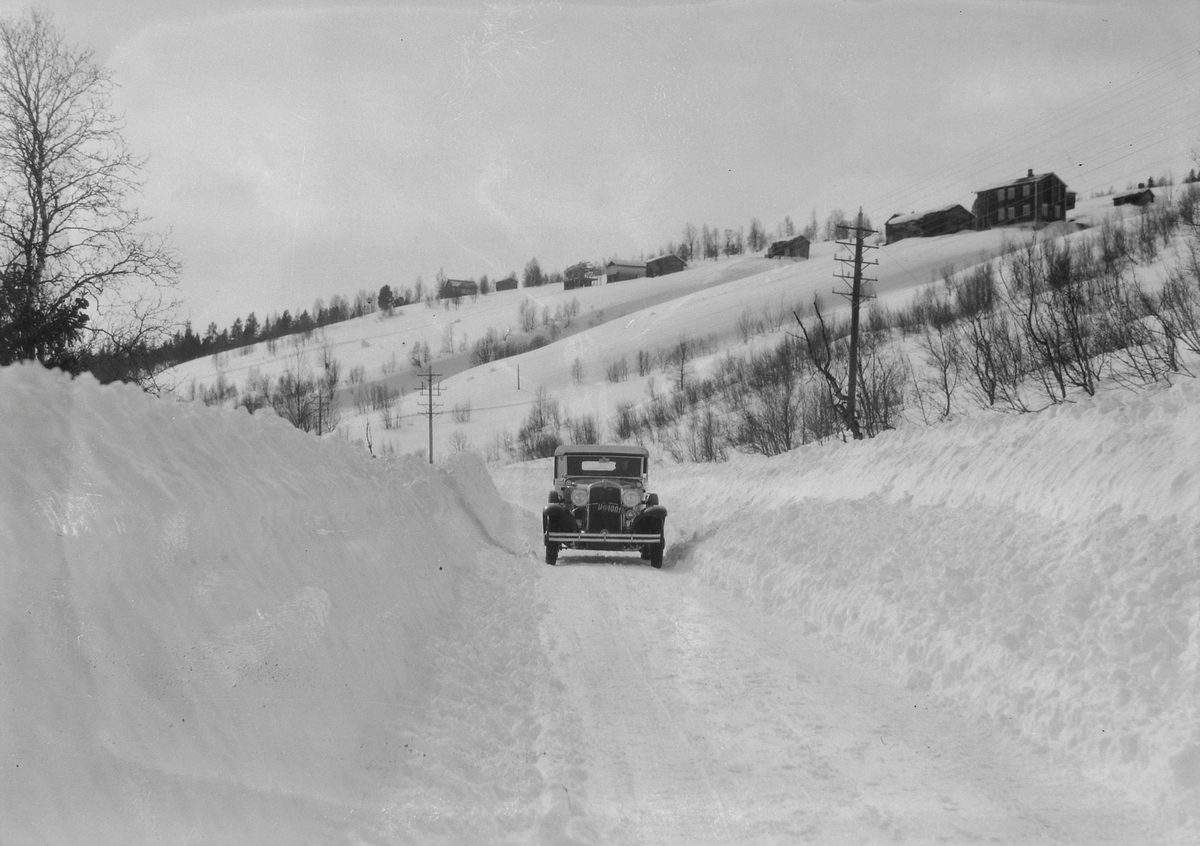 Biltur Støren - Berkåk - Ulsberg på vinterføre