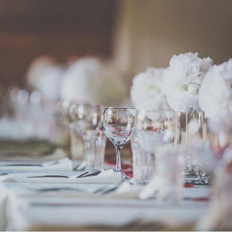 Selskapslokaler bryllup