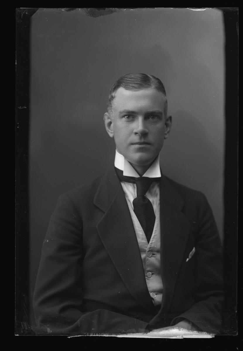 Bankdirektör Harald Lingmark