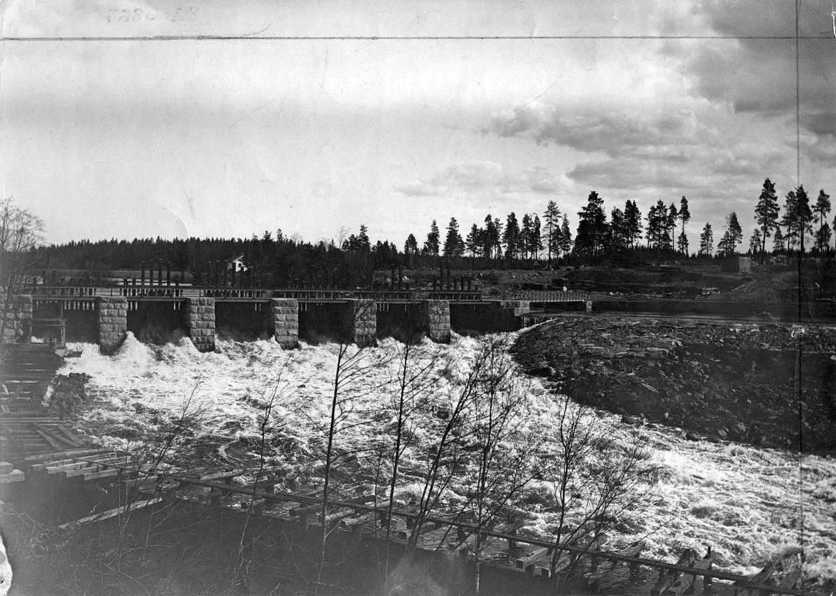 Trångfors vid Kolbäcksån, 1900.