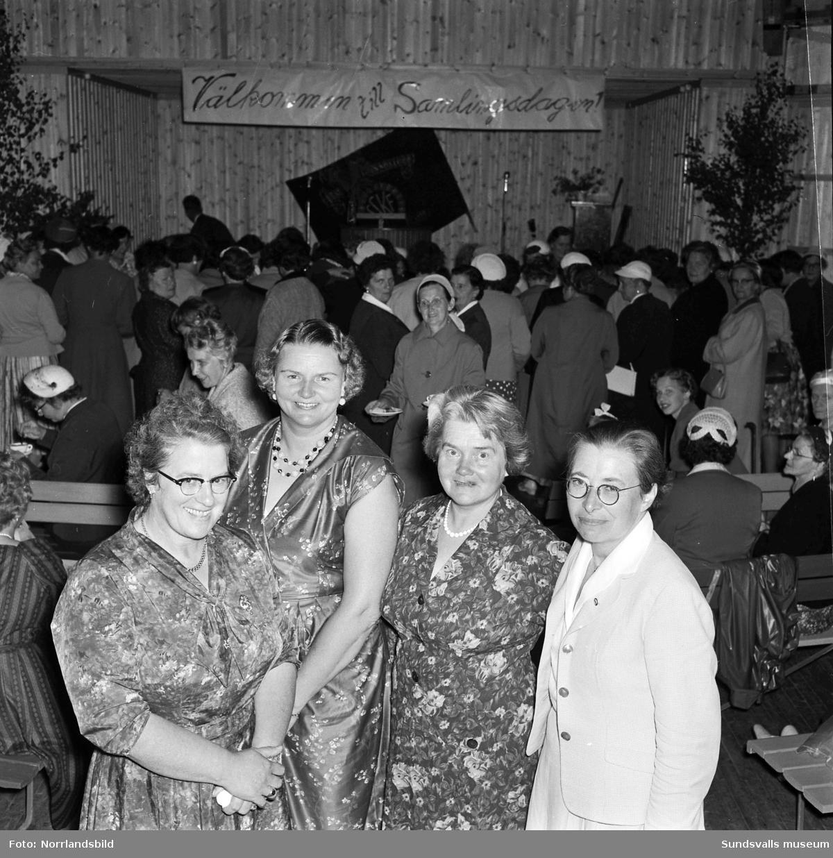 Kvinnornas samlingsdag i Matfors.