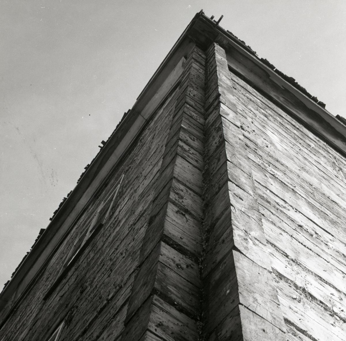 En timrad husknut, 1967-68.